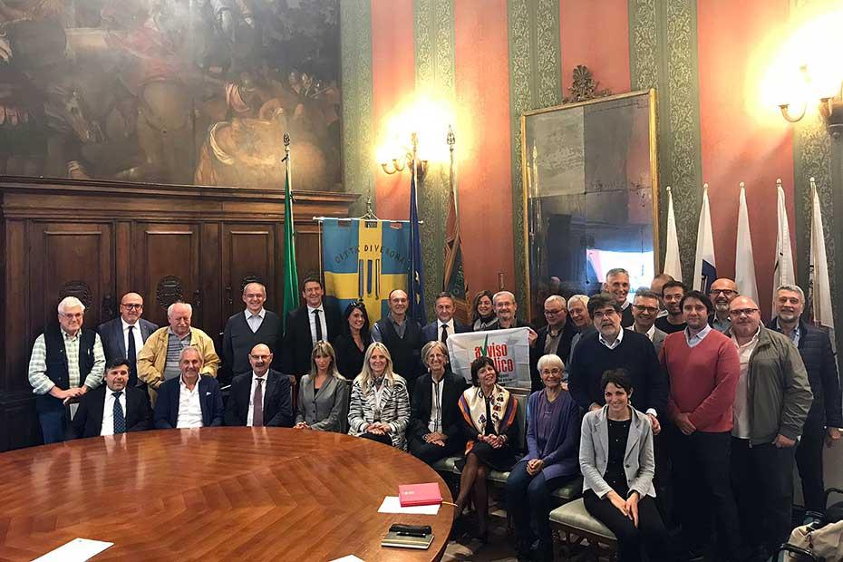 La riunione del Coordinamento provinciale di Avviso Pubblico in municipio a VeronaJPG