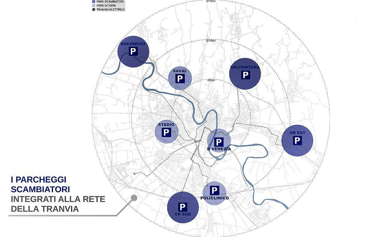 Parcheggi scambiatori (VeronaPolis)