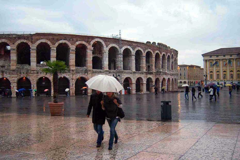 Pioggia Verona