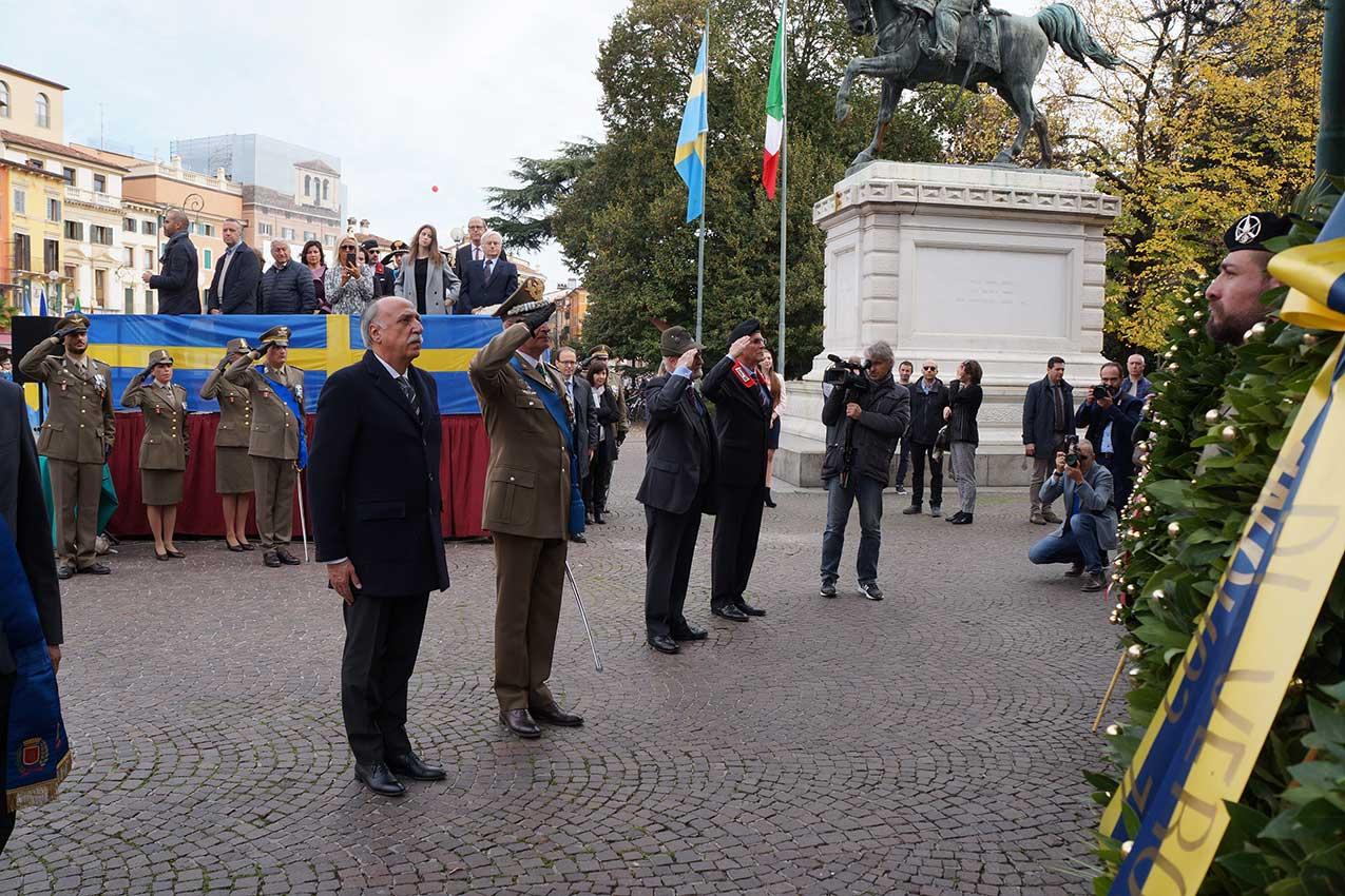 2018-11-04, Verona, commemorazione centenario Prima Guerra Mondiale