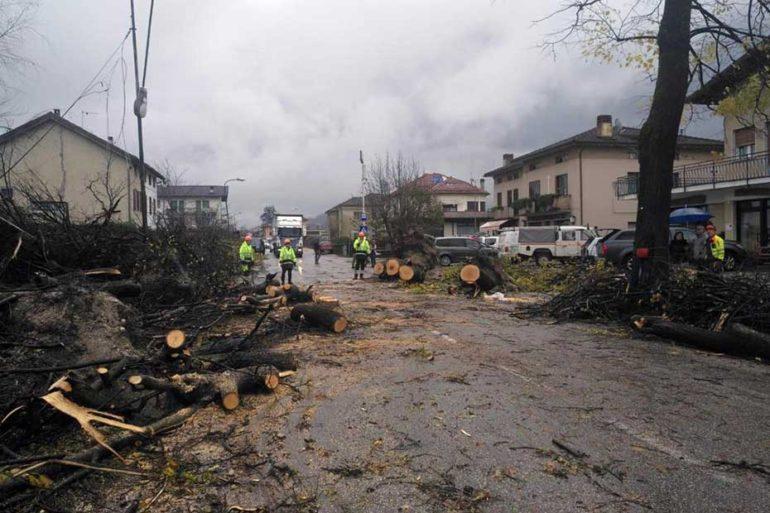 2018-11, Danni maltempo in Veneto