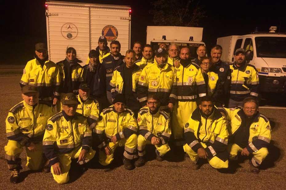 Volontari Protezione Civile ANA Verona