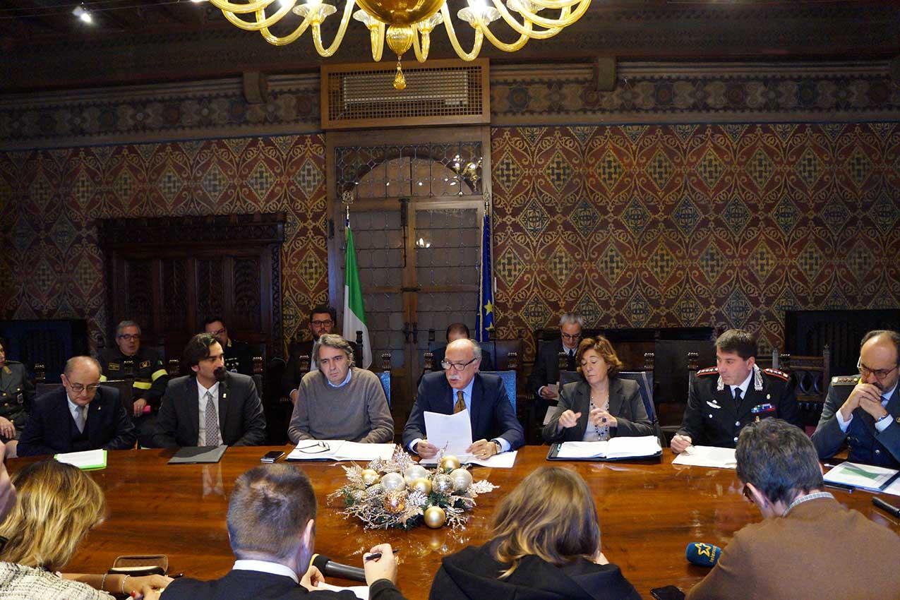 L'incontro in prefettura. Il prefetto Salvatore Mulas fa il punto sulla criminalità a Verona