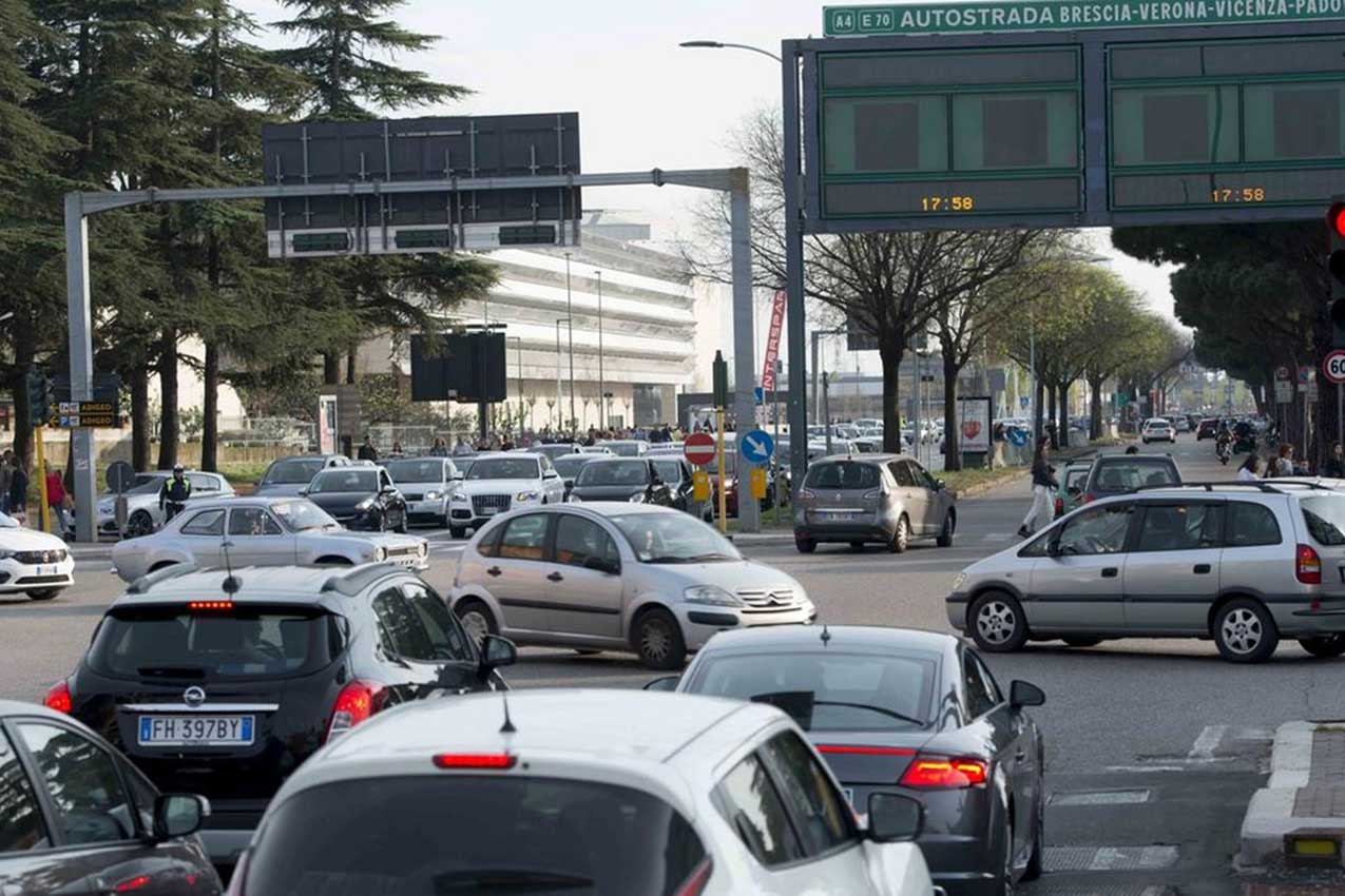 Traffico a Verona