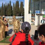 AMT accoglie i turisti al Parcheggio Centro con Giulietta e Romeo