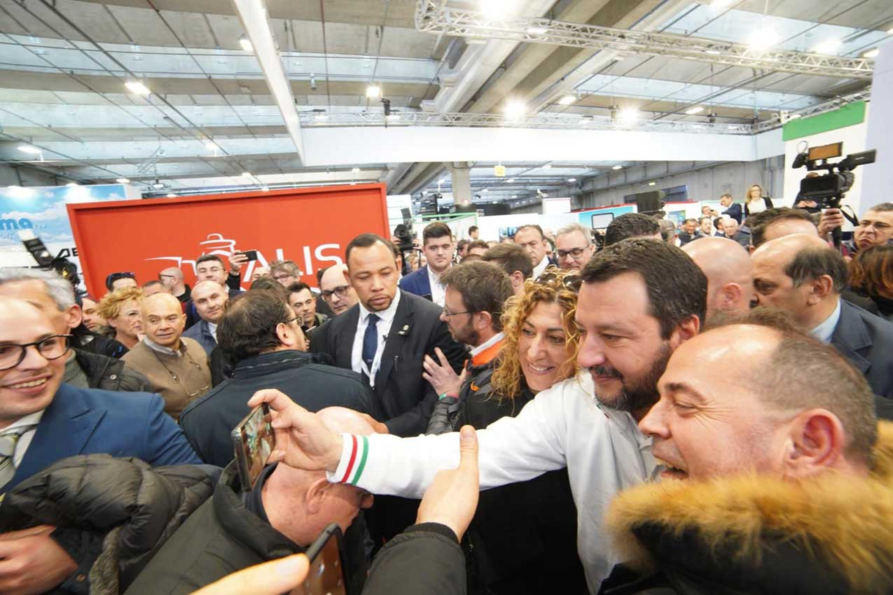 Matteo Salvini a Verona