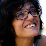 Michela Marzano con Idda alla Feltrinelli