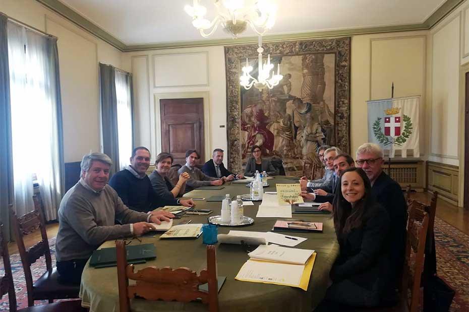 14-03-2019, Treviso, incontro assessori all'Ambiente dei Capoluoghi Veneti