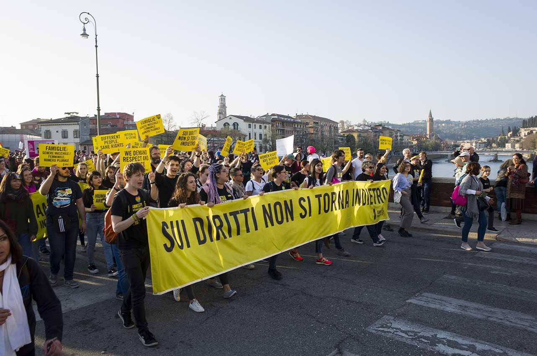 2019-03-30, Verona, manifestazione contro il WFC