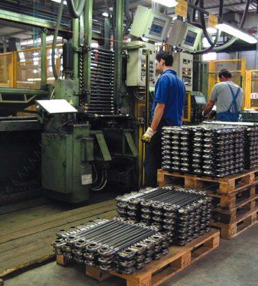 Diminuisce la produzione metalmeccanica rispetto all'anno scorso