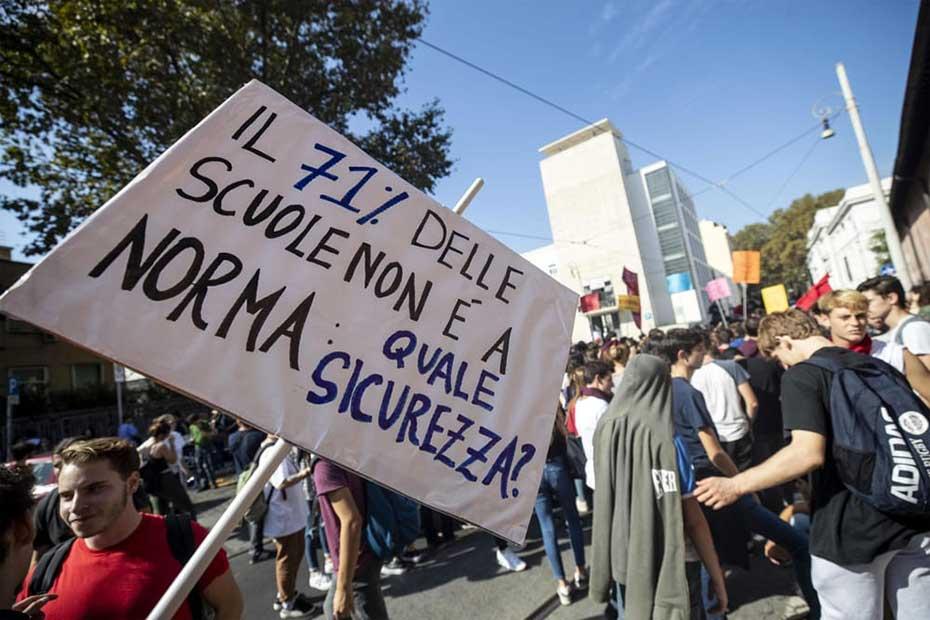 Proteste degli studenti