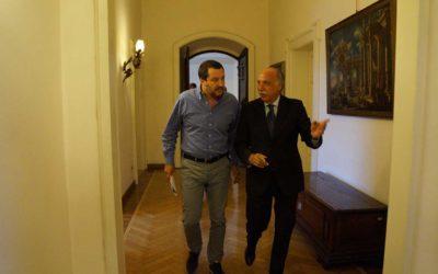 Salvini e Mulas, 14 luglio 2018