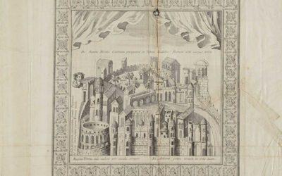 Verona, acquaforte, 1773 circa