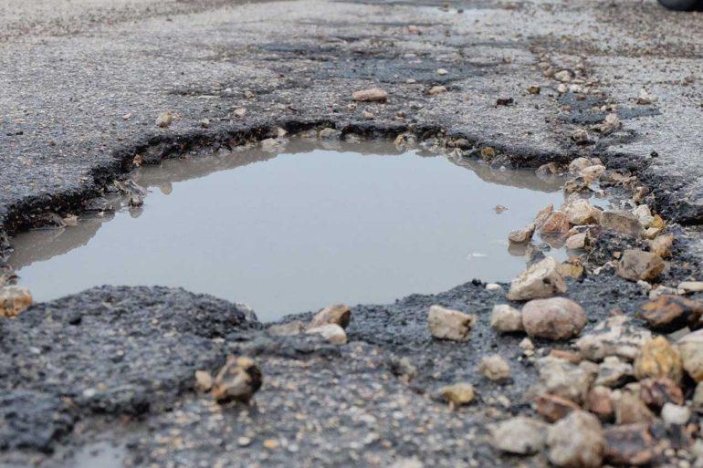 Buca asfalto