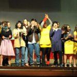 Generazione Teatro 2019 studenti in palcoscenico