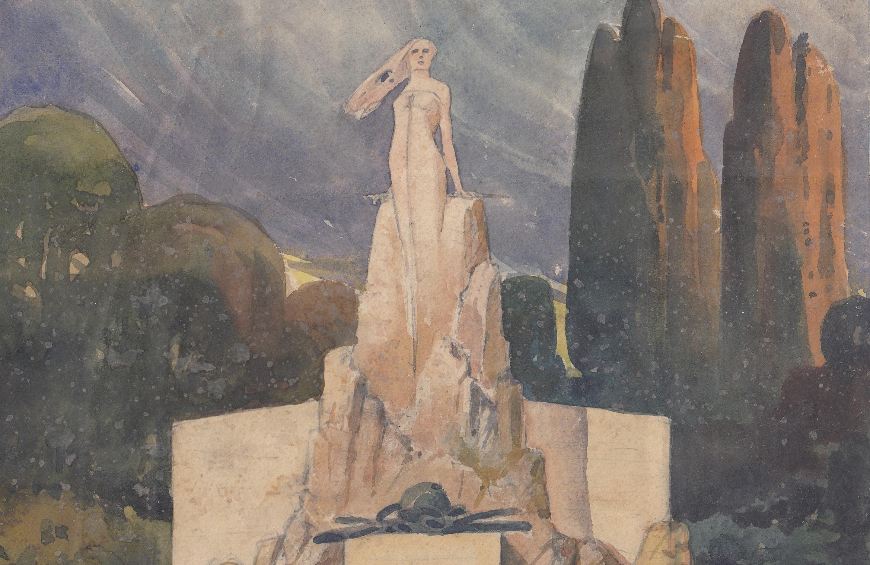 Bozzetto per monumento ai caduti non identificato