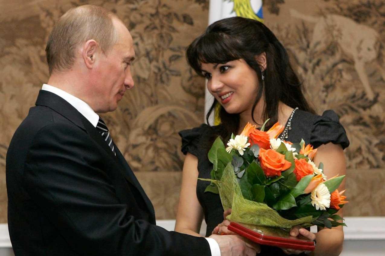 Vladimir Putin, Anna Jur'evna Netrebko