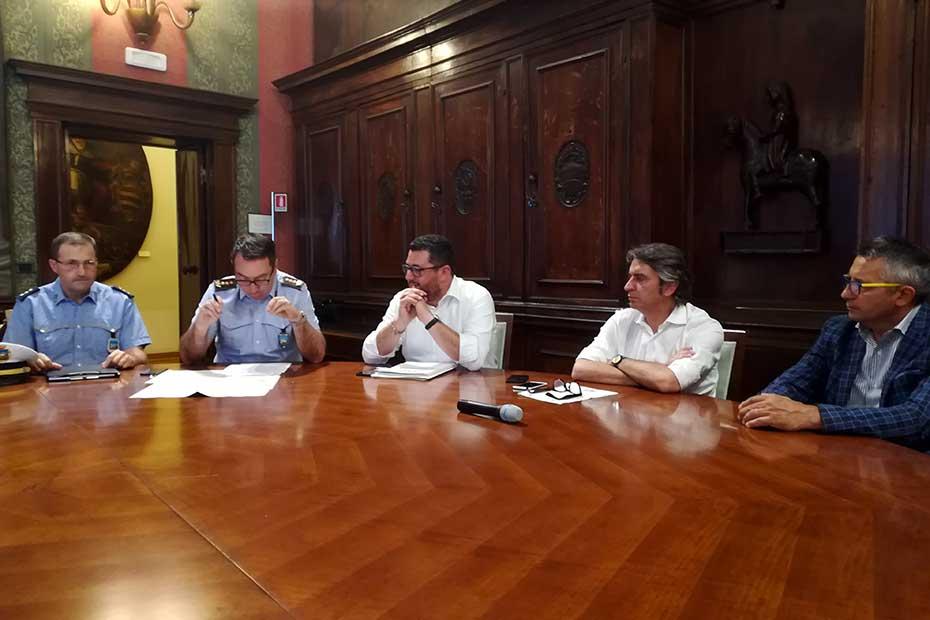 L'incontro in Municipio