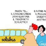 La tariffa dello scuolabus? Un leasing