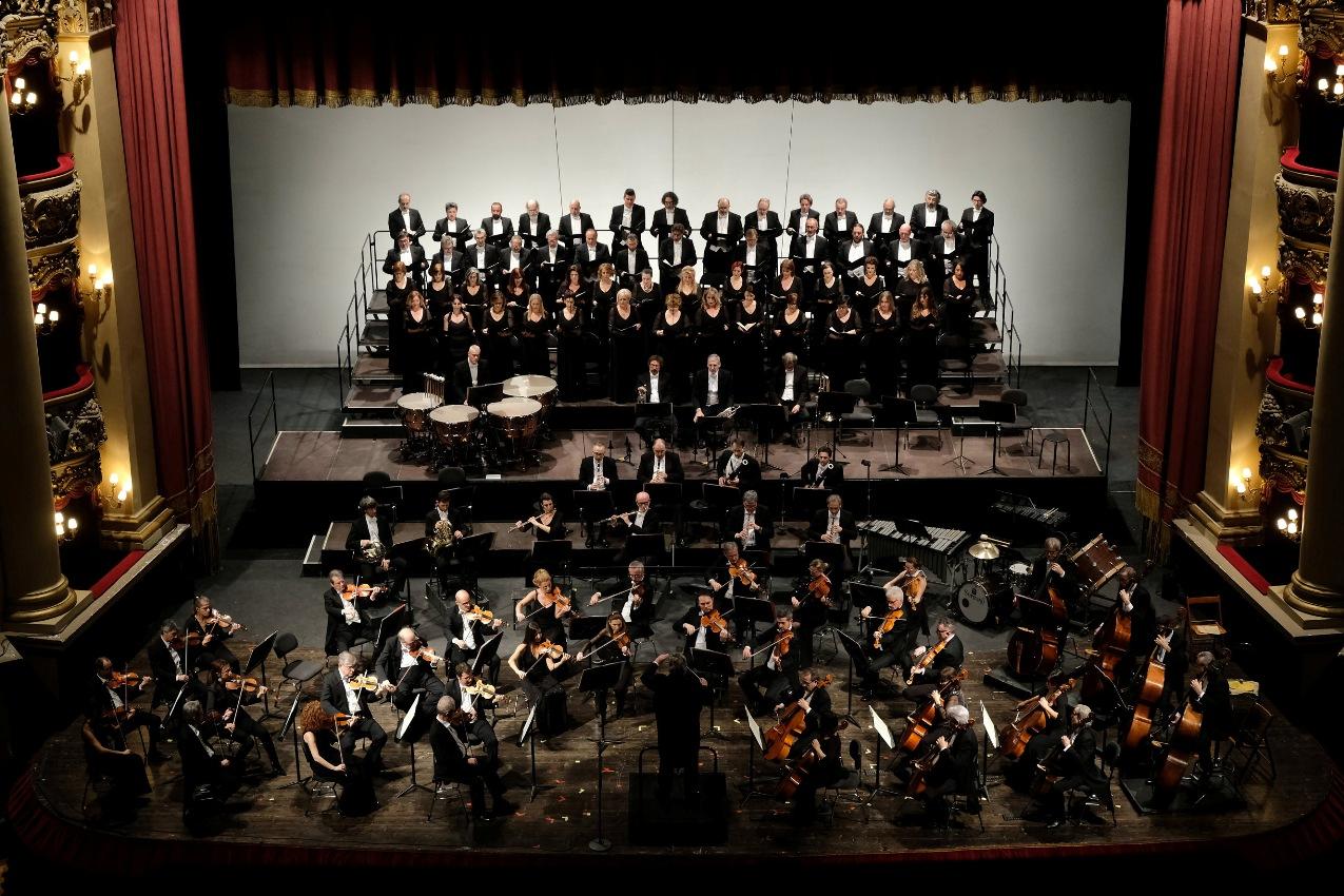 Orchestra e Coro Fondazione Arena - Foto Ennevi-fondazione arena stagione artistica 2020