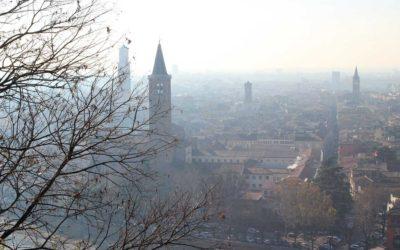 Verona nebbia