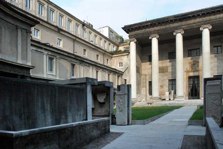 Museo Lapidario Maffeiano (foto Giorgio Montolli)