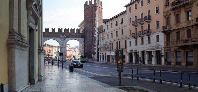 Torre Pentagona, Verona (foto Giorgio Montolli)