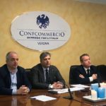 L'intervento di Paolo Arena alla conferenza stampa di Confcommercio