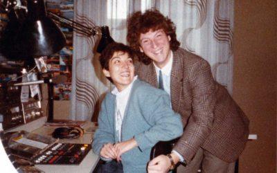 Amadeus e Laura Bagarella a Radio Blu