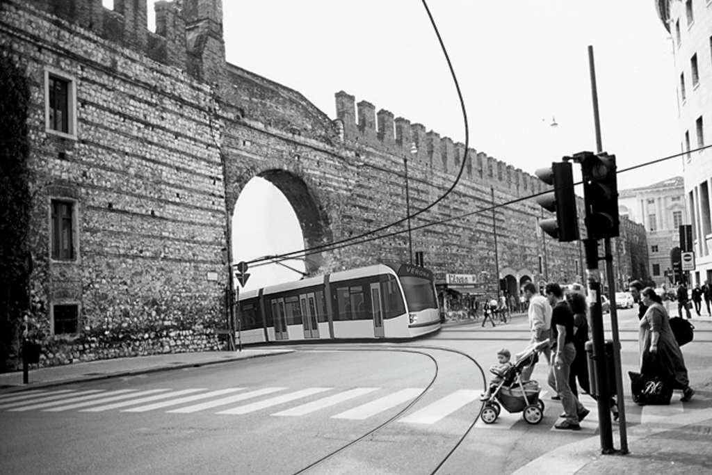 Progetto Metrotramvia a Verona (Studio T1, Rimini)