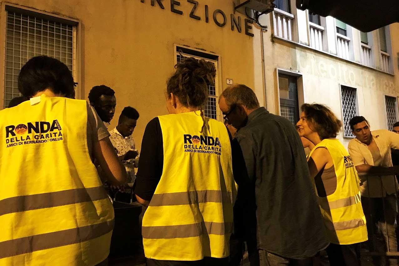Ronda della carità, Verona