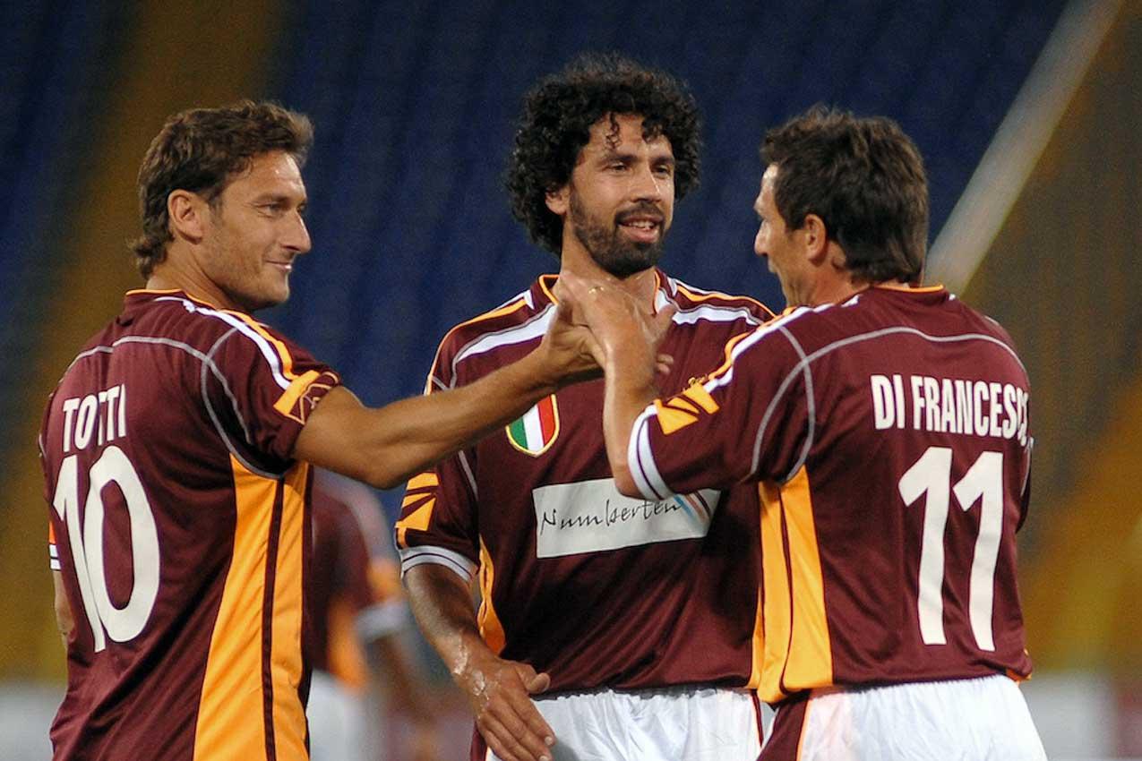 Francesco Totti, Damiano Tommasi, Eusebio Di Francesco