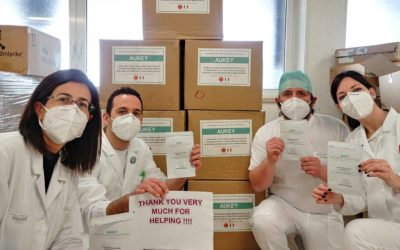 Il personale medico ringrazia la Cina