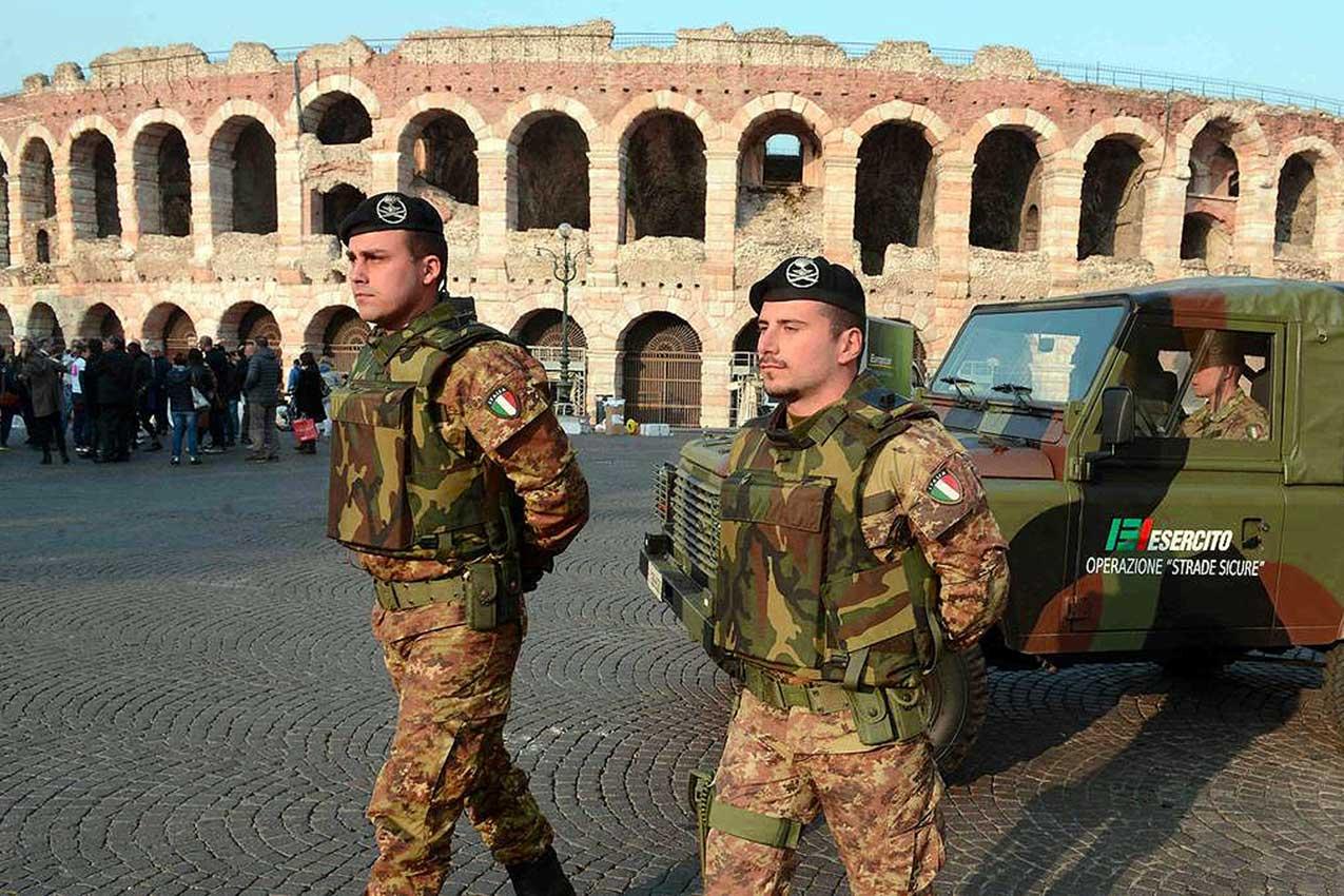 Militari dell'operazione Strade sicure, Verona