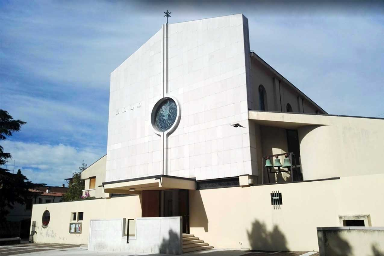 Chiesa Sacro cuore di Gesù, quartiere Pindemonte, Verona
