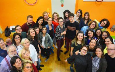 Gli operatori del centro psicopedagogico Il Ponte, Verona