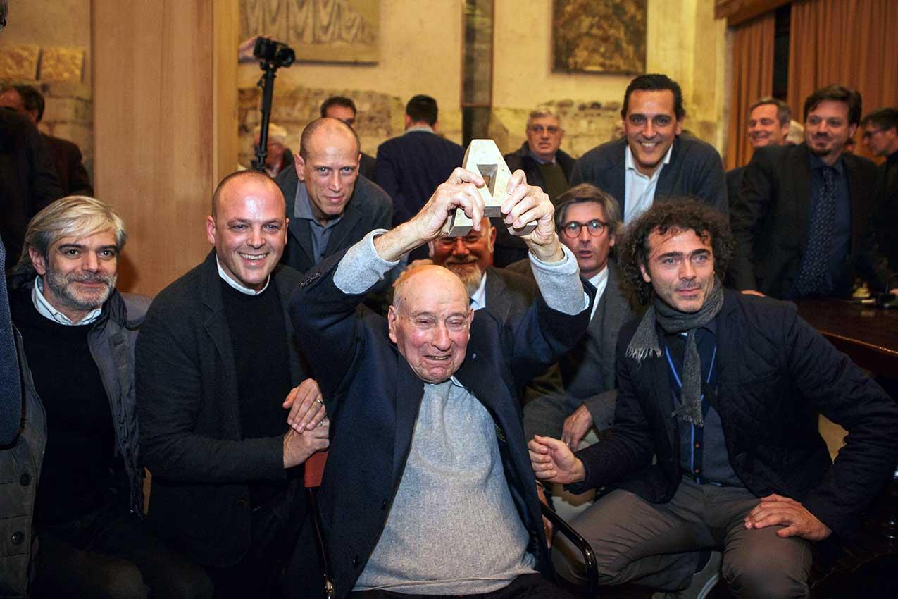 Libero Cecchini riceve il Premio ArchitettiVerona (2017)
