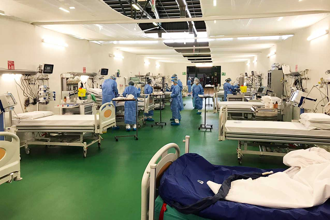 Ospedale Covid-19, Bergamo