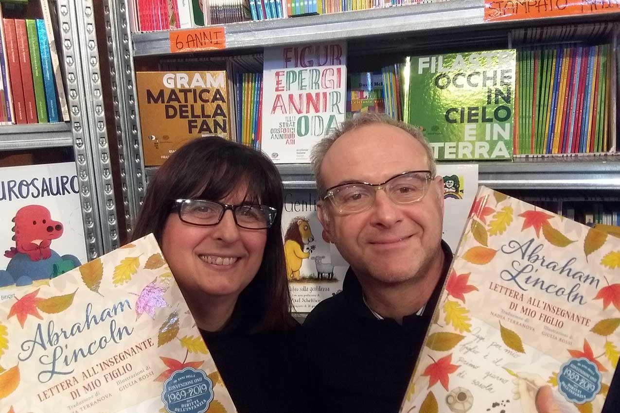 Roberta Conte e Claudio De Signori, libreria Jolly del libro, Verona