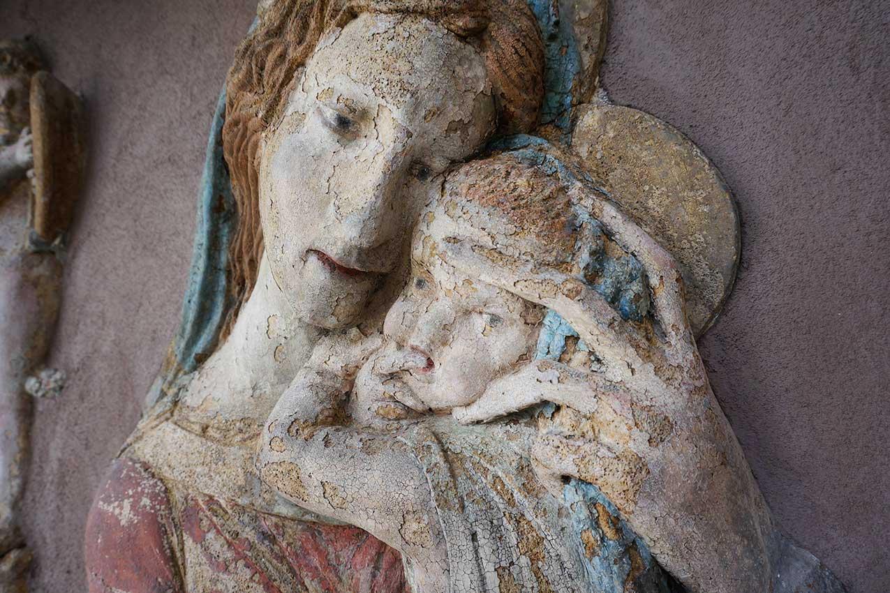Madonna di Verona, via Fogge, particolare