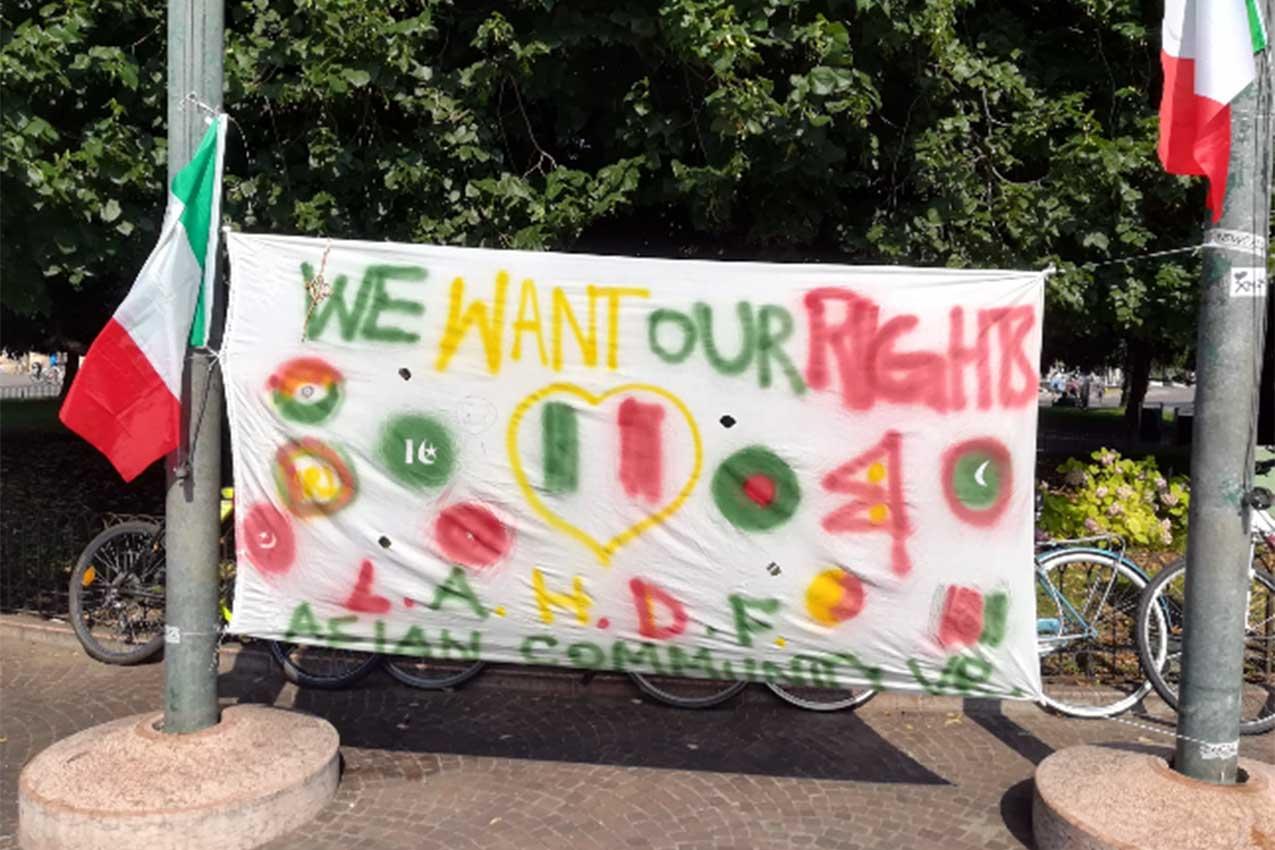 Manifestazione And we want to breath!