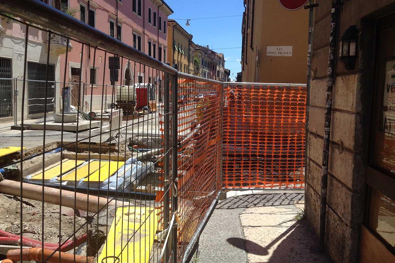 Via Ponte Pignolo, via Santa Chiara