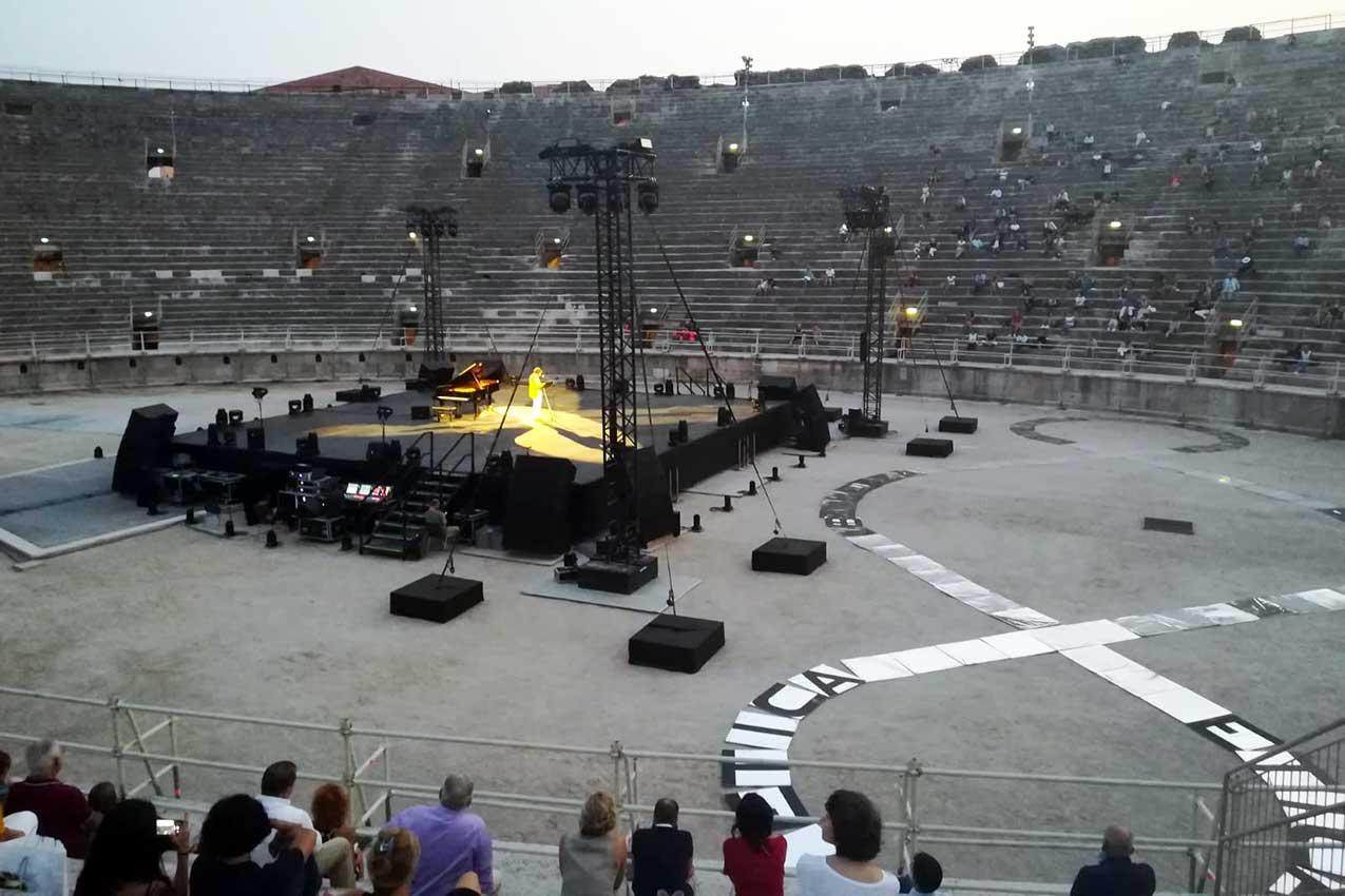 Festival della Bellezza 2020, Arena di Verona