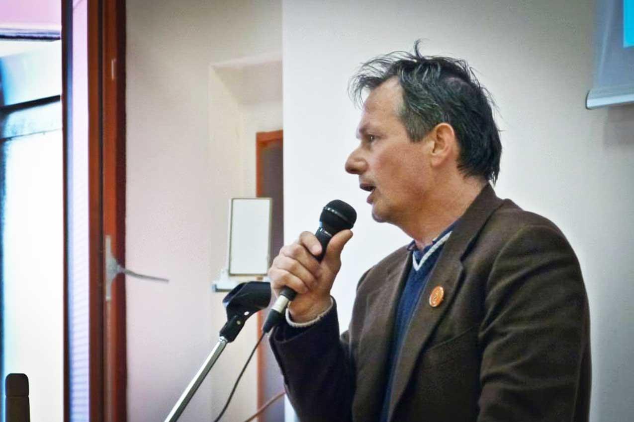 Paolo Avigo, presidente dell'Associazione Giochi Antichi (AGA)