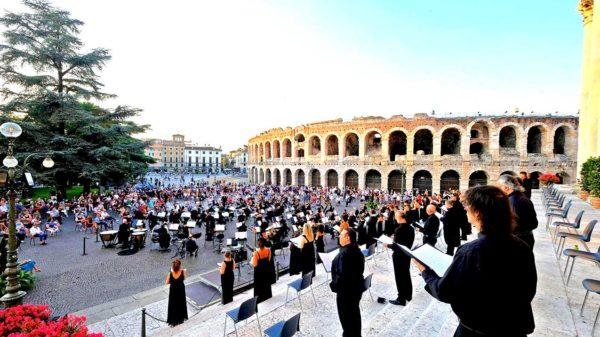 Concerto in Piazza Bra