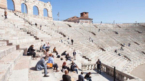 Conferenza stampa in Arena per presentare i dati del Festival della Bellezza 2020
