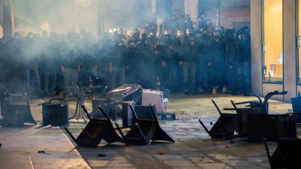Manifestazione a Verona, 28 ottobre 2020