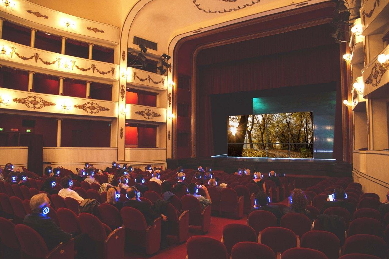 ottobre a teatro -silent dante