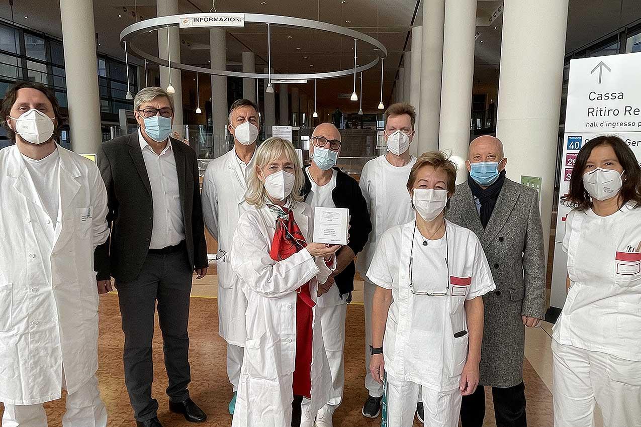 L'arrivo del vaccino anticovid all'AOUI di Verona