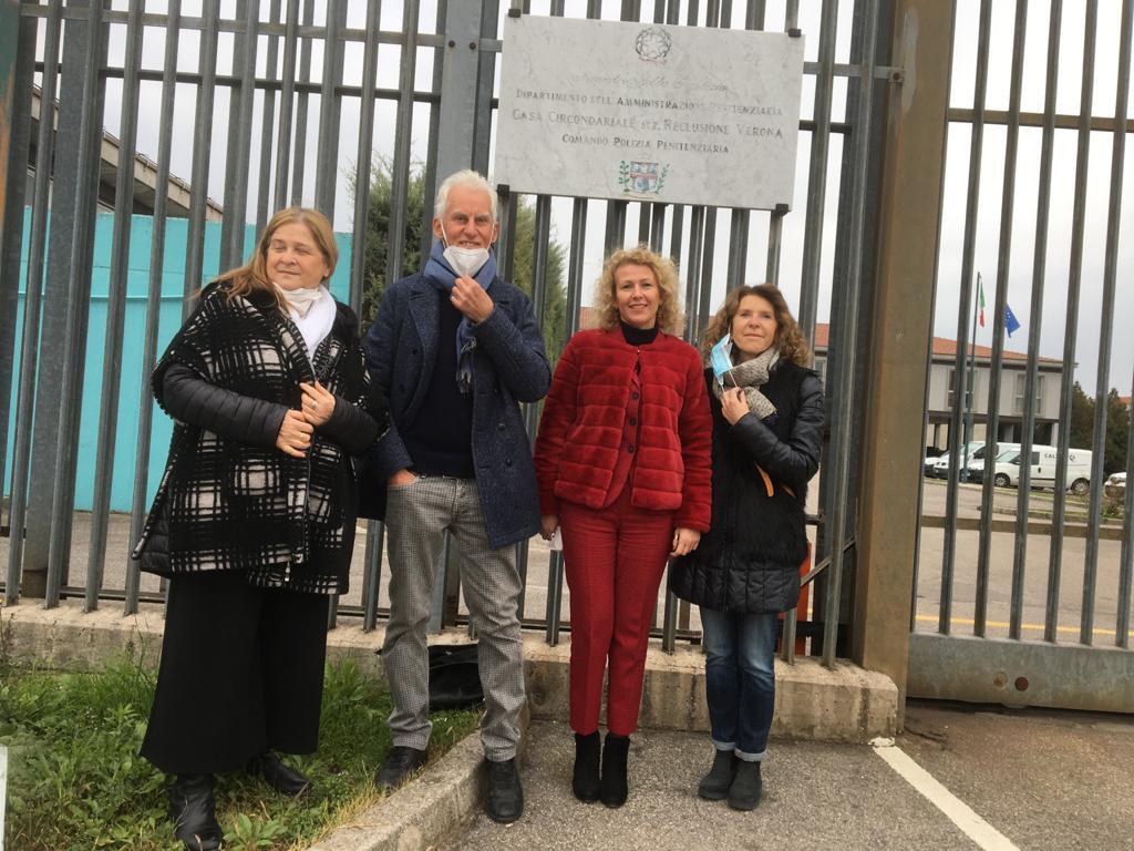 Paola Tacchella (insegnante in carcere), Fulvio Ervas (scrittore), Nicoletta Morbioli (Dirigente scolatisca), Anna Corsini (insegnante in carcere)